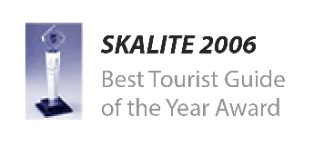 Best Tourist Guide of the Year 2006 by Skalite.